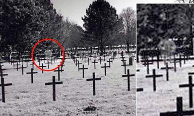 Fantoma din cimitirul militar german