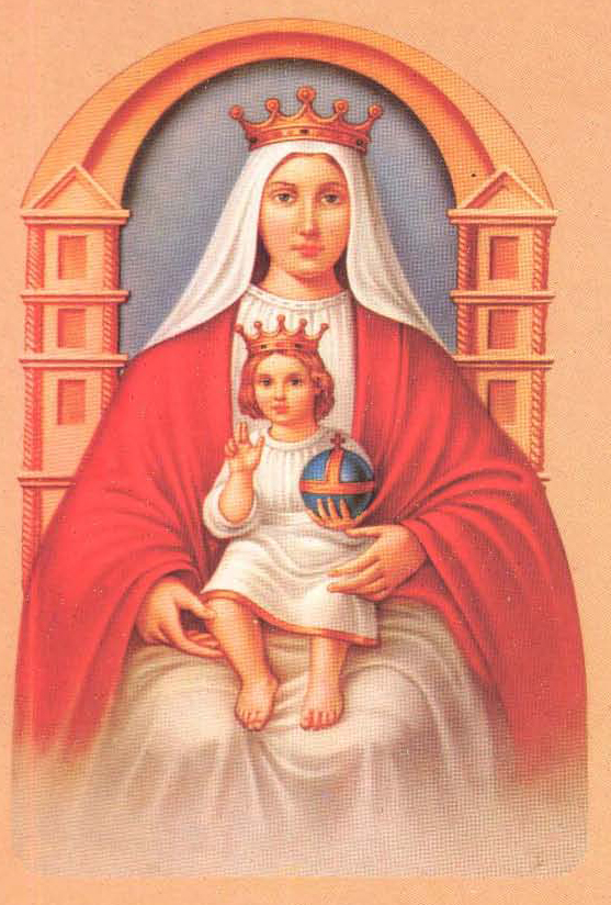 Icoana Sfintei Fecioare din Coromoto. Autor Meridaltalia. Sursă Wikipedia.