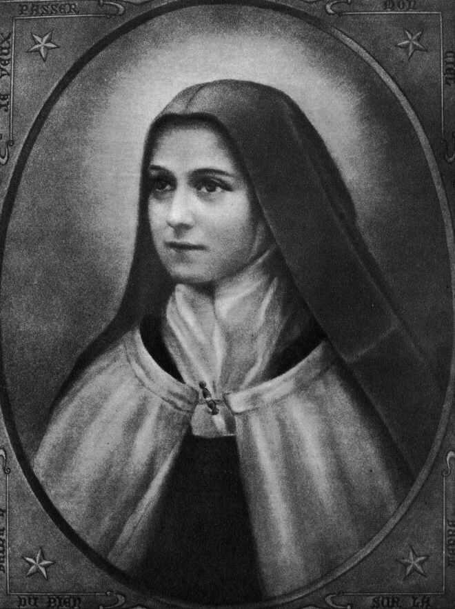 Tereza de Lisieux. Sursa Wikipedia.
