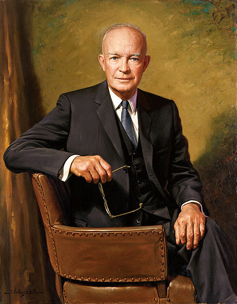 Dwight D. Eisenhower. Autor foto James Anthony Wils. Sursa Wikipedia.