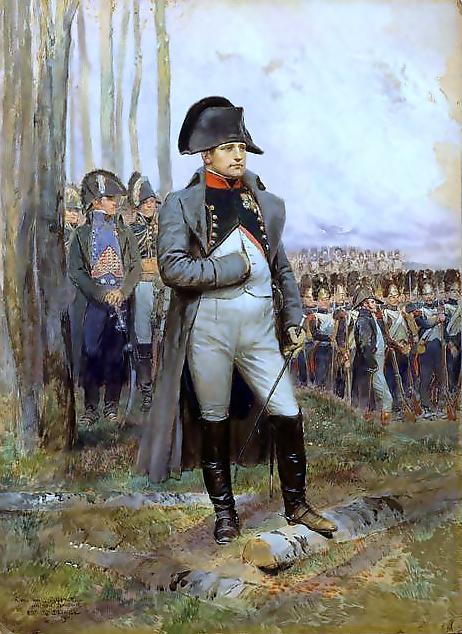 Napoleoon Bonaparte, pictura de Édouard Detaille, Wikipedia.