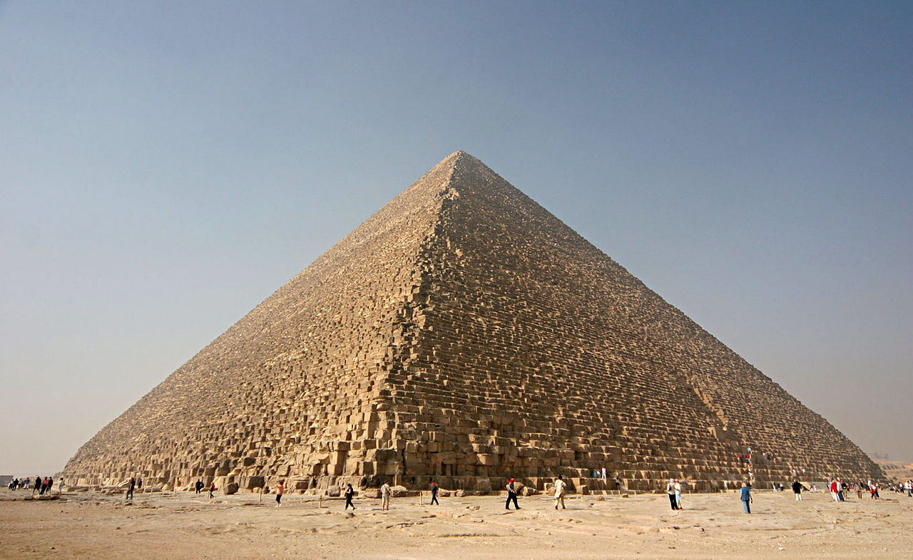 Piramida lui Kheops. Credit foto Nina Aldin Thune, Wikipedia.