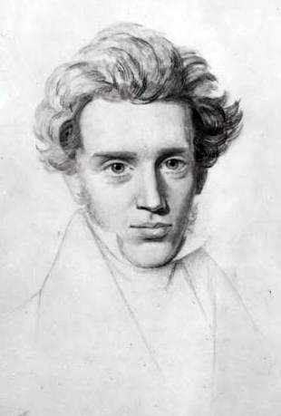 Sursă Royal Library of Denmark - Kierkegaard Manuscripts, Wikipedia. Autor Neils Christian Kierkegaard.