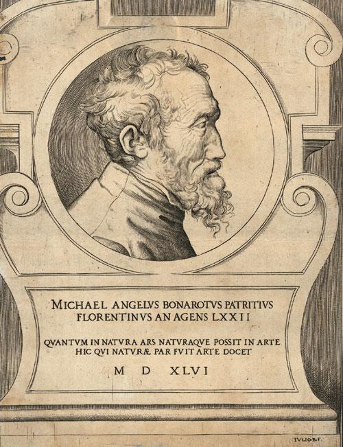 Sursă Copperplate print, 23.7 x 18.3 cm. Online: http://www.bassenge.com, autor Giulio Bonasone, 1546, sursă Wikipedia.