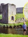 A fotografiat o fantomă la castelul Rhuddlan din Ţara Galilor
