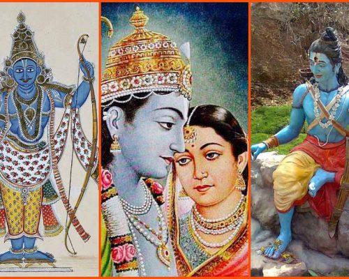 An_image_collage_of_Hindu_deity_Rama
