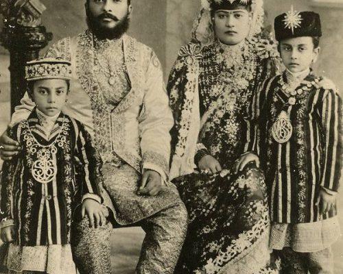Chandra_Shamsher_family
