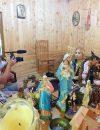 Celebra tămăduitoare Sunita a filmat cu televiziunea din Moscova